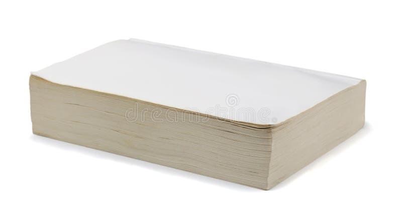 Livro vazio imagem de stock
