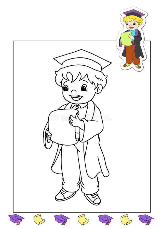 Livro de coloração dos trabalhos 15 - advogado ilustração royalty free
