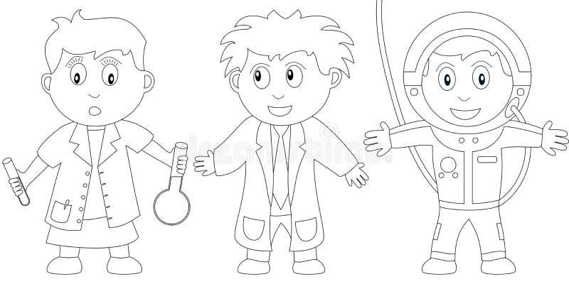 Livro de coloração para os miúdos [11] ilustração do vetor