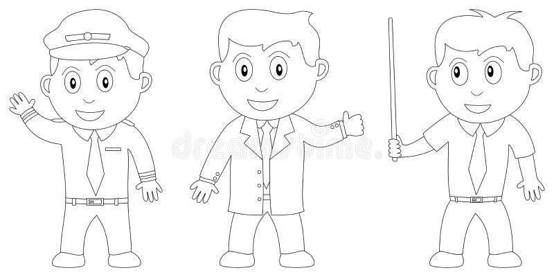 Livro de coloração para os miúdos [13] ilustração royalty free