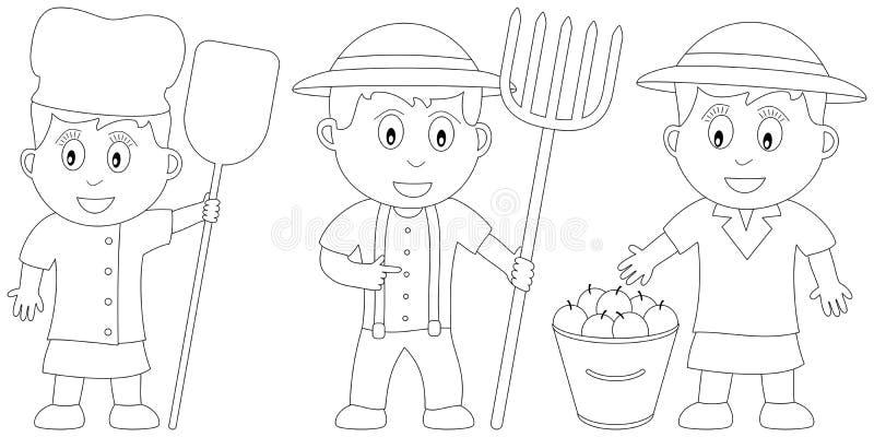 Livro de coloração para os miúdos [18] ilustração royalty free