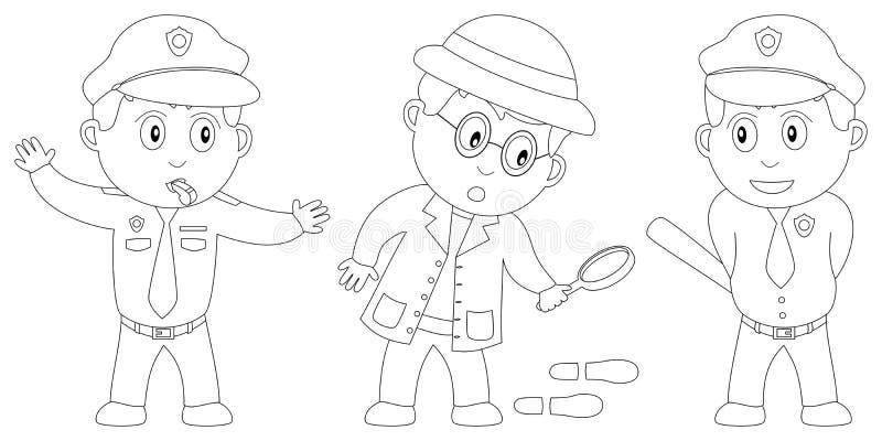 Livro de coloração para os miúdos [8] ilustração do vetor