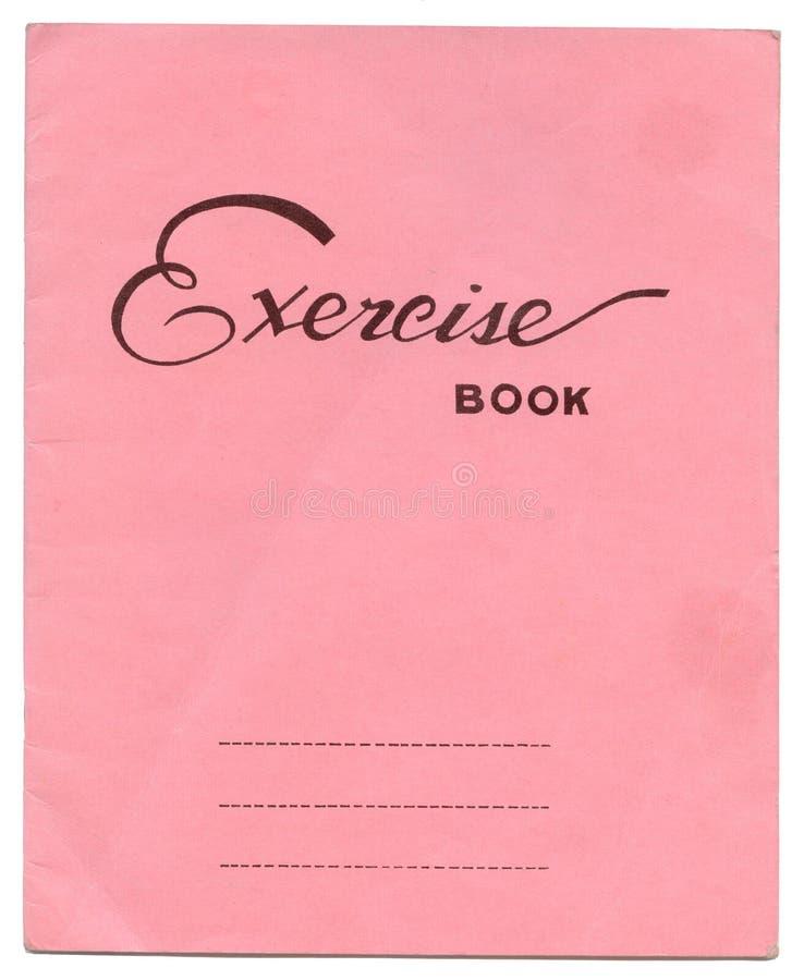Livro de exercício imagem de stock