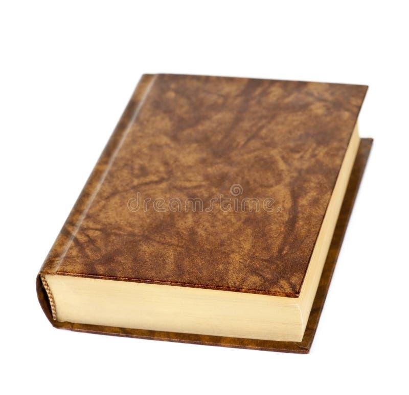 Livro de hardcover em branco foto de stock royalty free