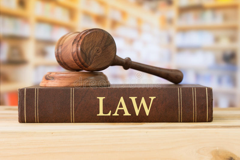 Livro de lei imagens de stock royalty free