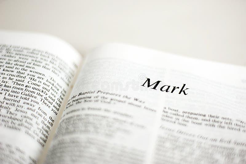 Livro de Mark fotos de stock