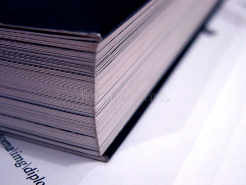 Livro - detalhe 2 fotografia de stock royalty free