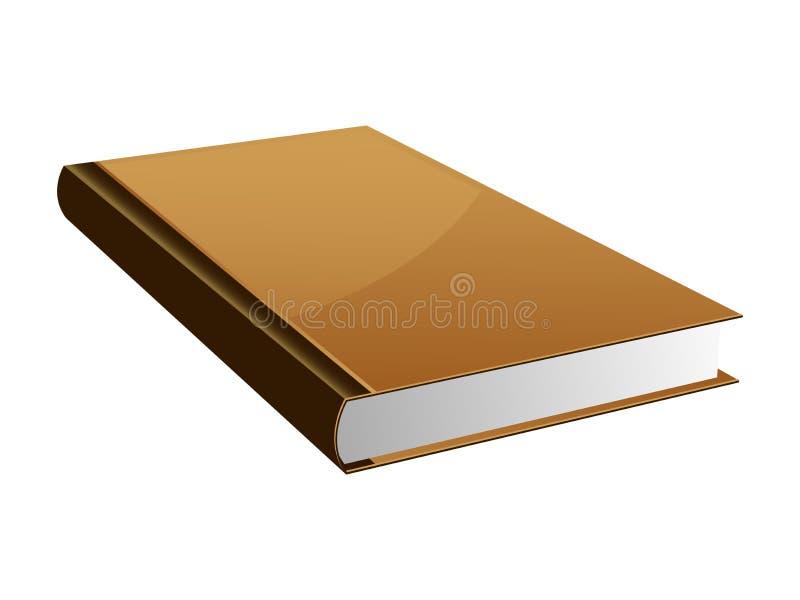 Livro do ícone ilustração stock