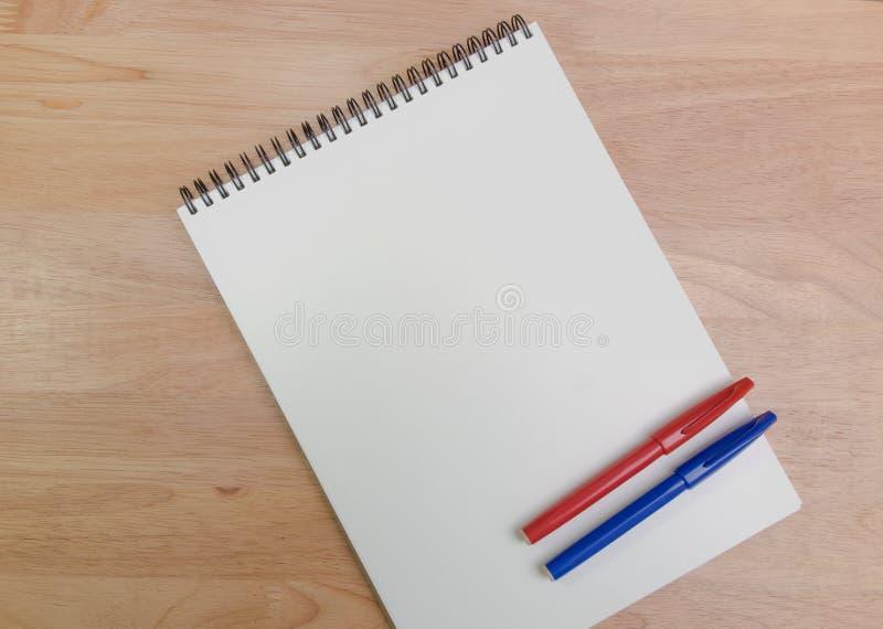 Livro do esboço fotografia de stock