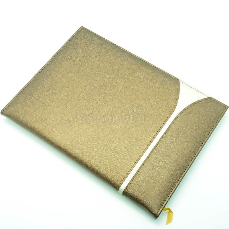 Livro do memorando foto de stock