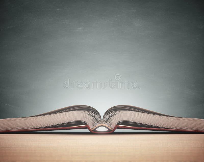 Livro do quadro-negro imagem de stock royalty free
