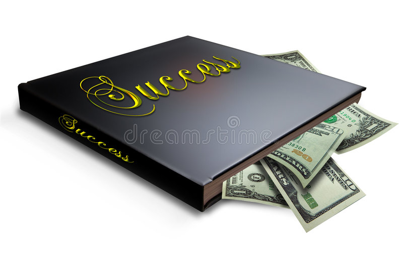 Livro do sucesso fotografia de stock