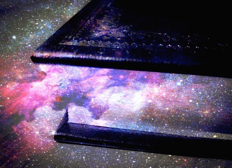 Livro do universo foto de stock royalty free