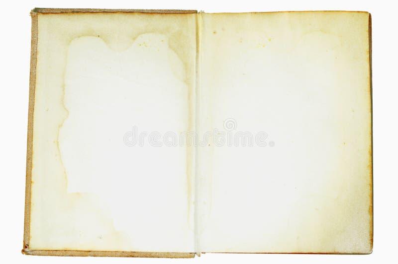 Livro do vintage fotografia de stock