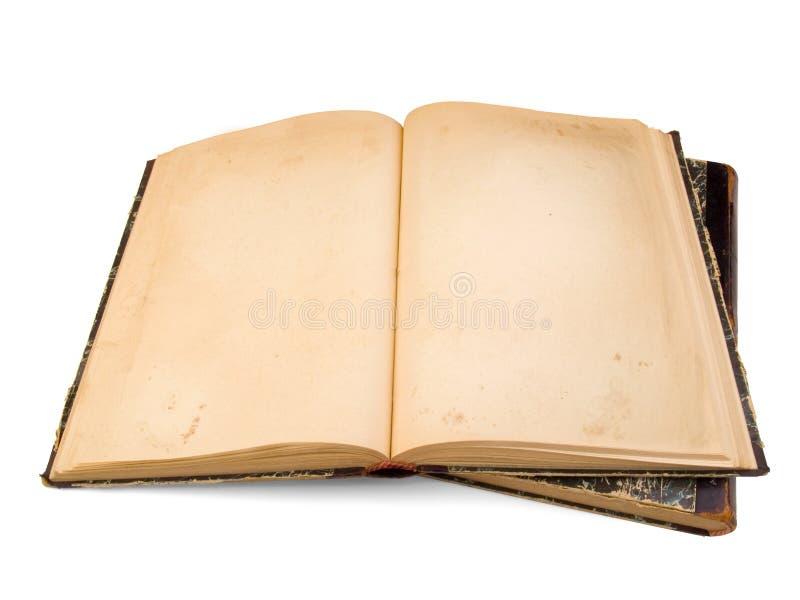 Livro do vintage isolado fotografia de stock royalty free