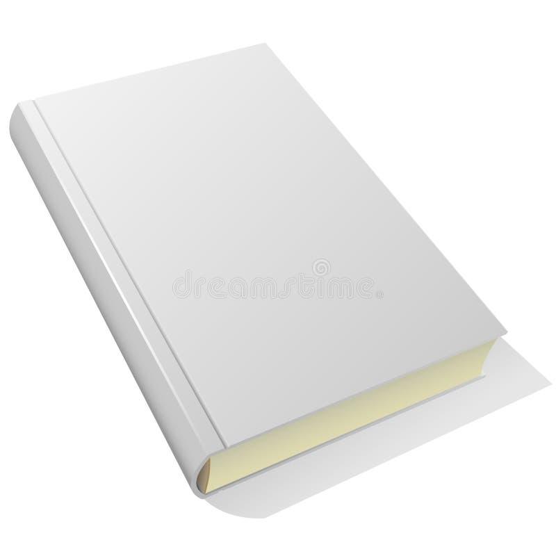 Livro em branco ilustração royalty free