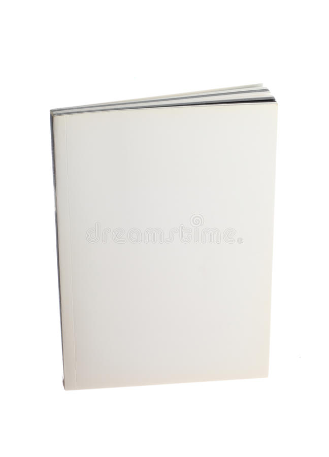 Livro em branco imagens de stock royalty free