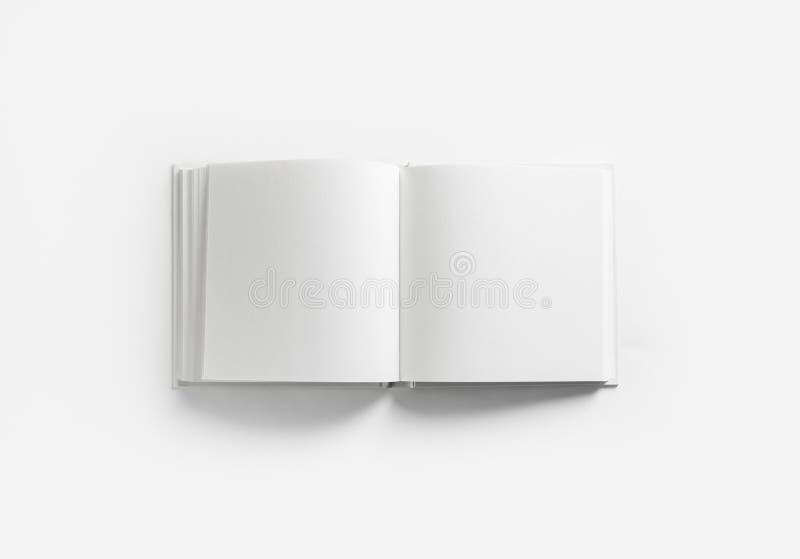 Livro em branco aberto imagens de stock royalty free