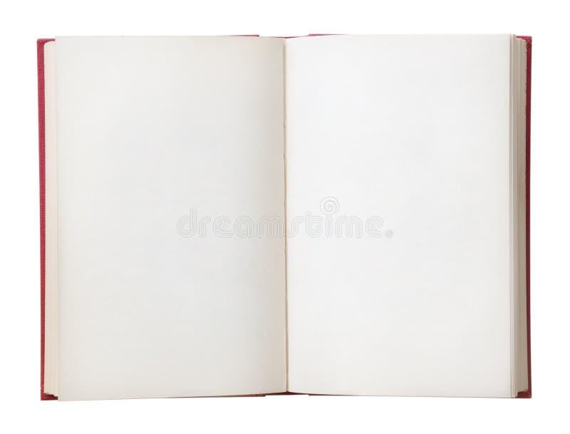 Livro Em Branco Aberto Imagens de Stock - Imagem: 2081114