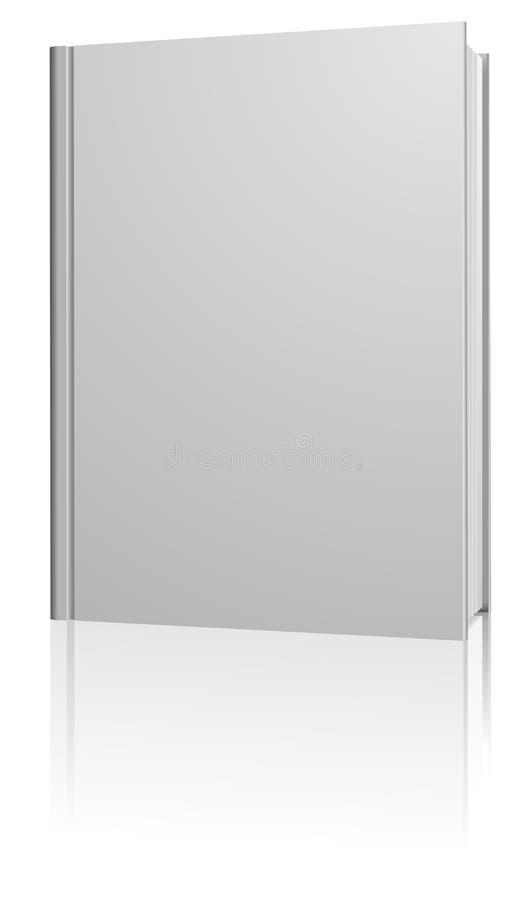 Livro em branco ereto ilustração do vetor