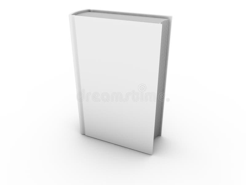 Livro em branco isolado ilustração royalty free