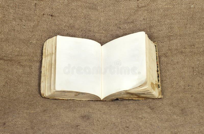Livro esfarrapado velho fotografia de stock