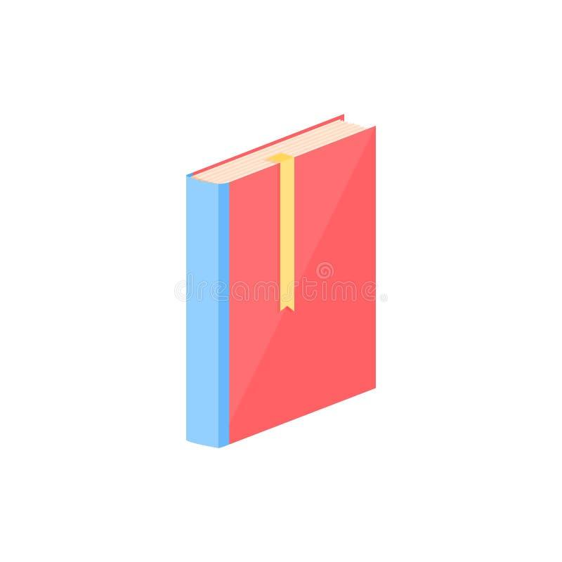 Livro fechado ilustração royalty free