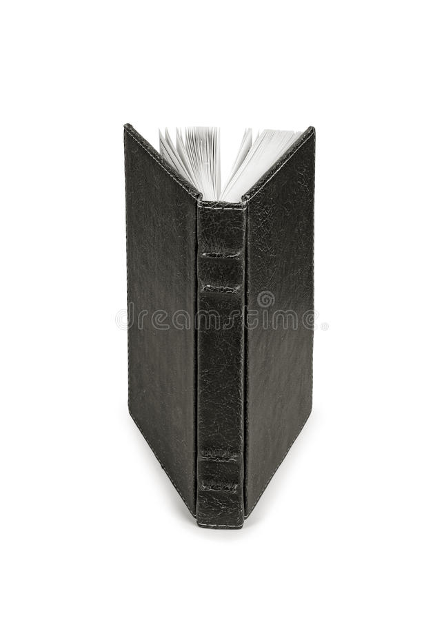 Livro isolado no fundo branco fotografia de stock royalty free