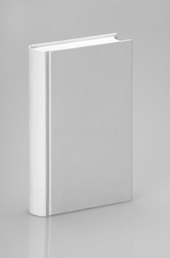 Livro liso branco para o projeto gráfico fotografia de stock royalty free