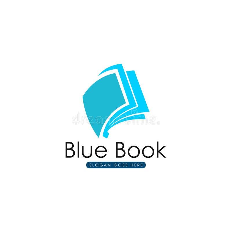 Livro Logo Template Livro Logo Vetora ilustração royalty free