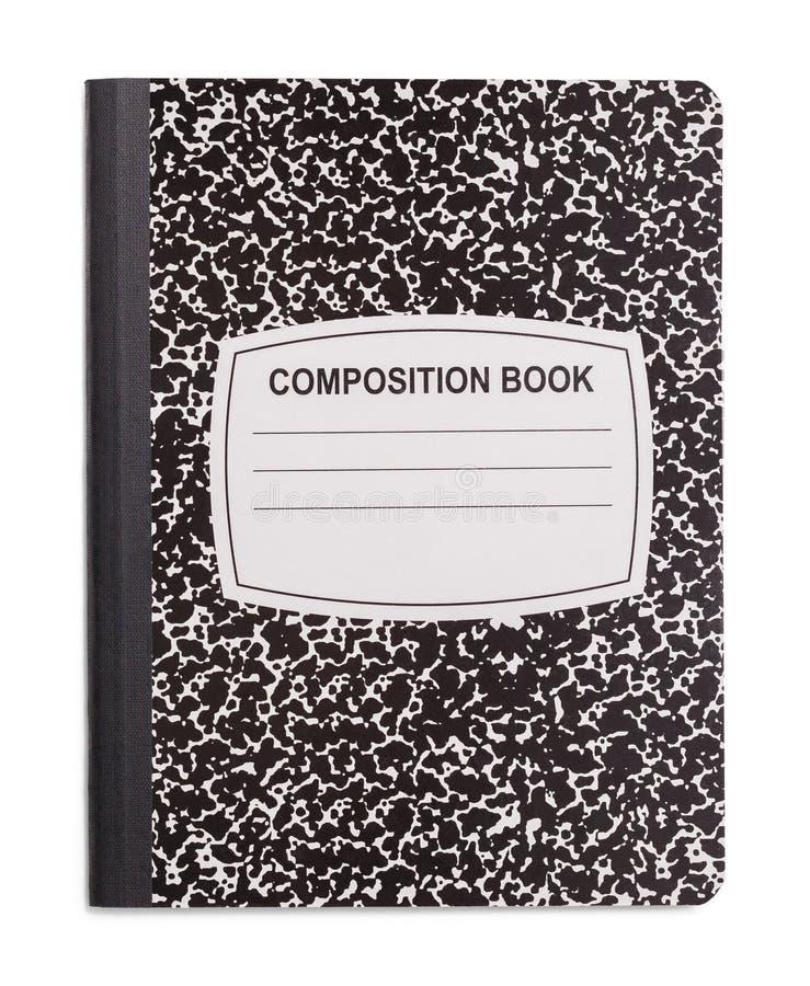Livro novo da composição fotografia de stock