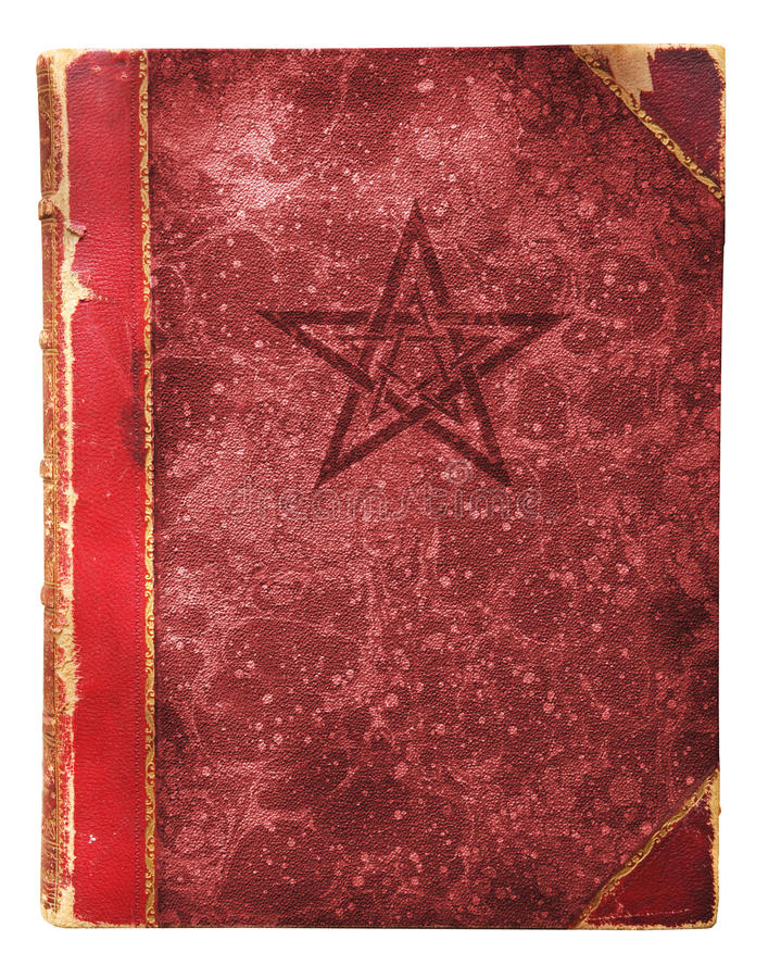 Livro Occult foto de stock royalty free