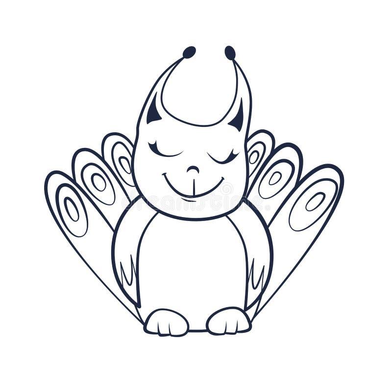 Livro Para Colorir Com Desenhos Animados Da Criatura De Sorriso