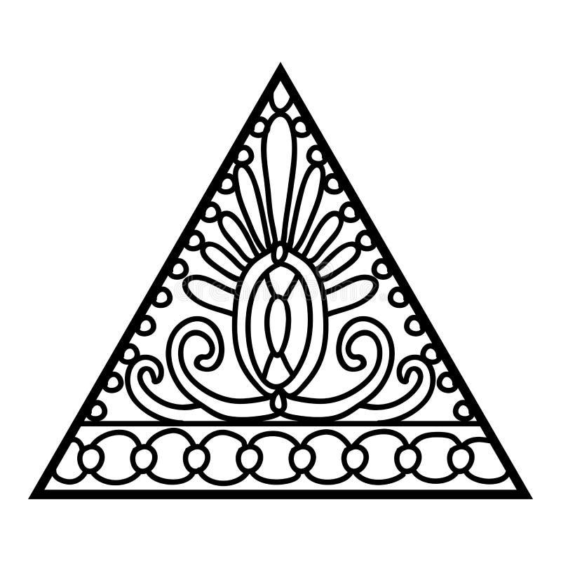Livro para colorir, coroa ilustração do vetor