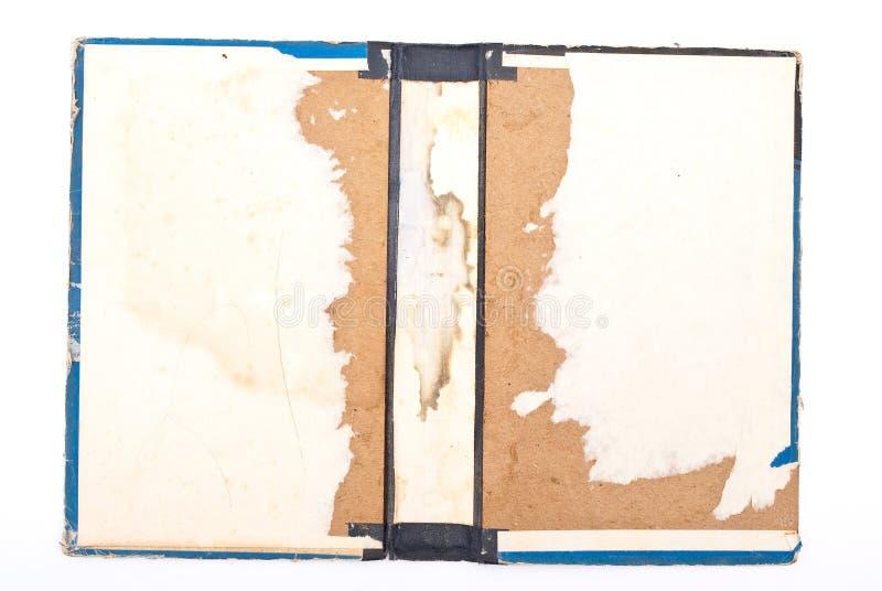 Download Livro rasgado antigo foto de stock. Imagem de isolado - 16871740