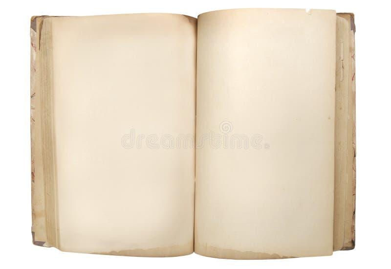 Livro retro velho fotografia de stock royalty free