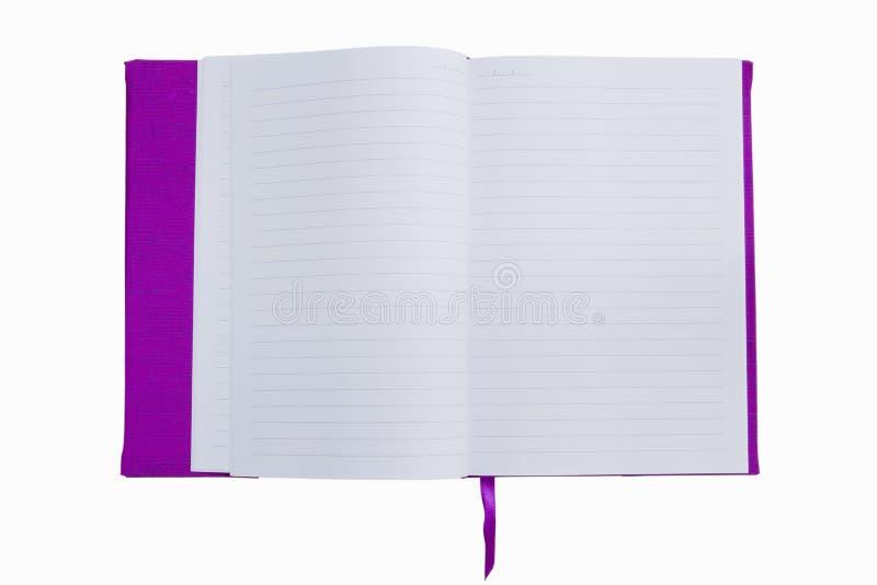 Livro roxo imagens de stock