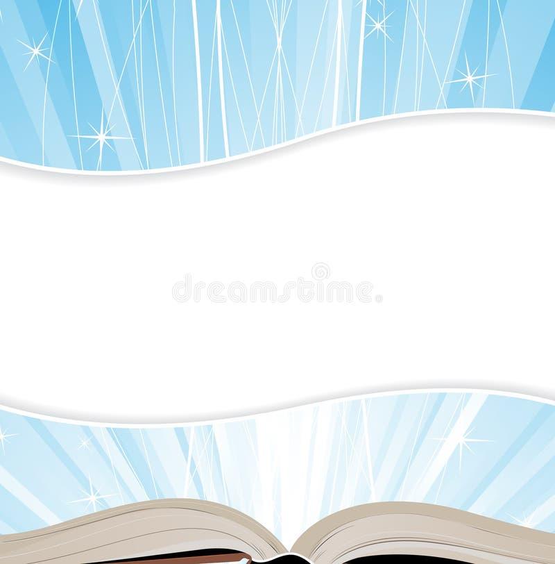 Livro sagrado ilustração stock