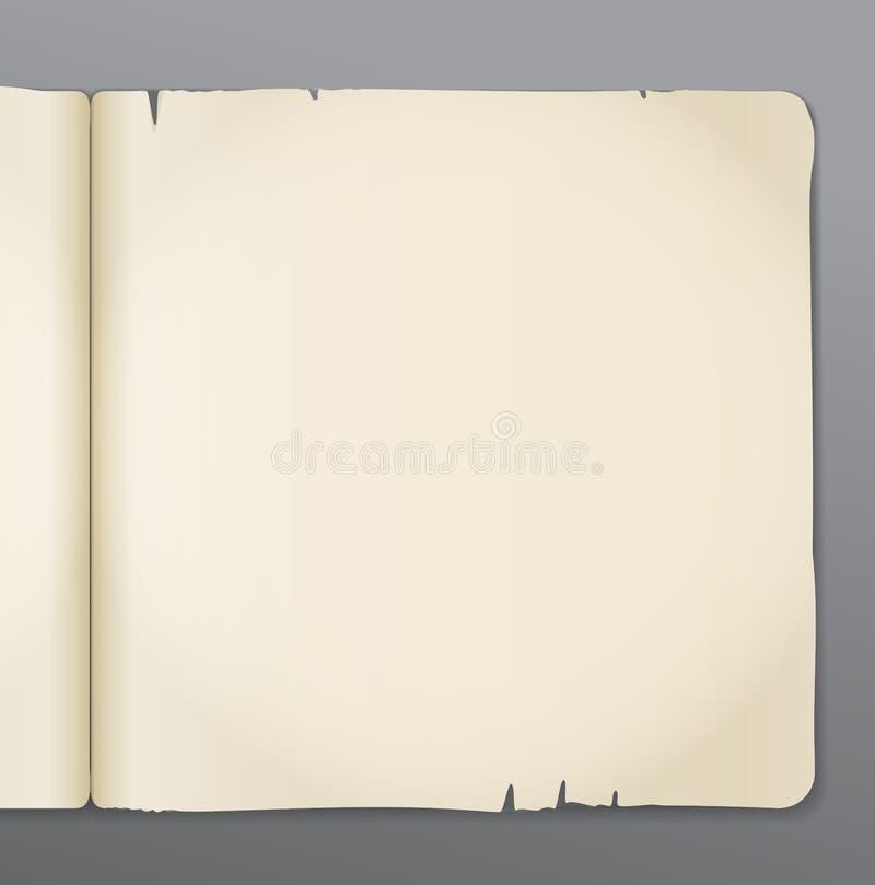 Livro velho ilustração stock