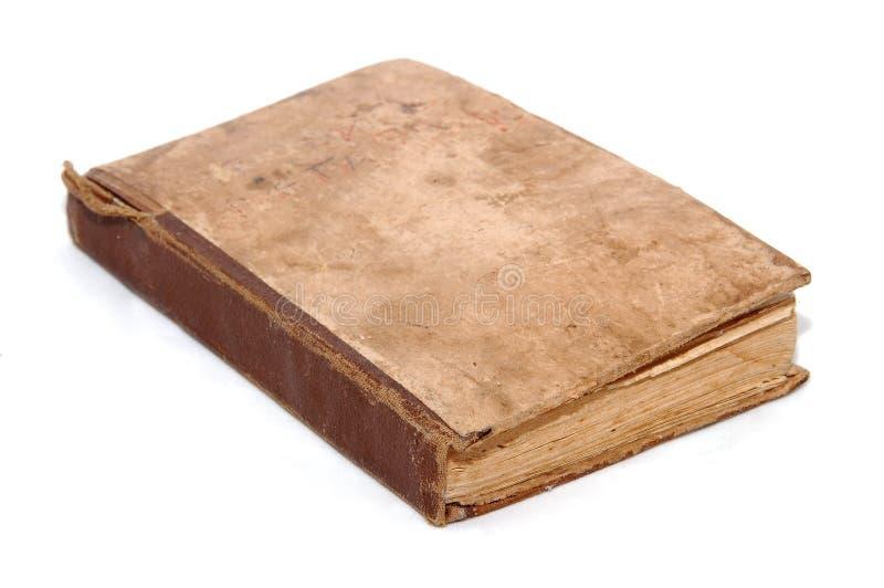 Livro velho da religião imagem de stock