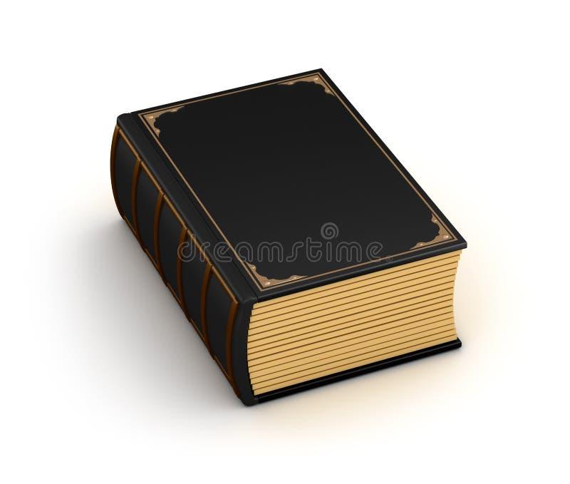 Livro velho grosso ilustração royalty free