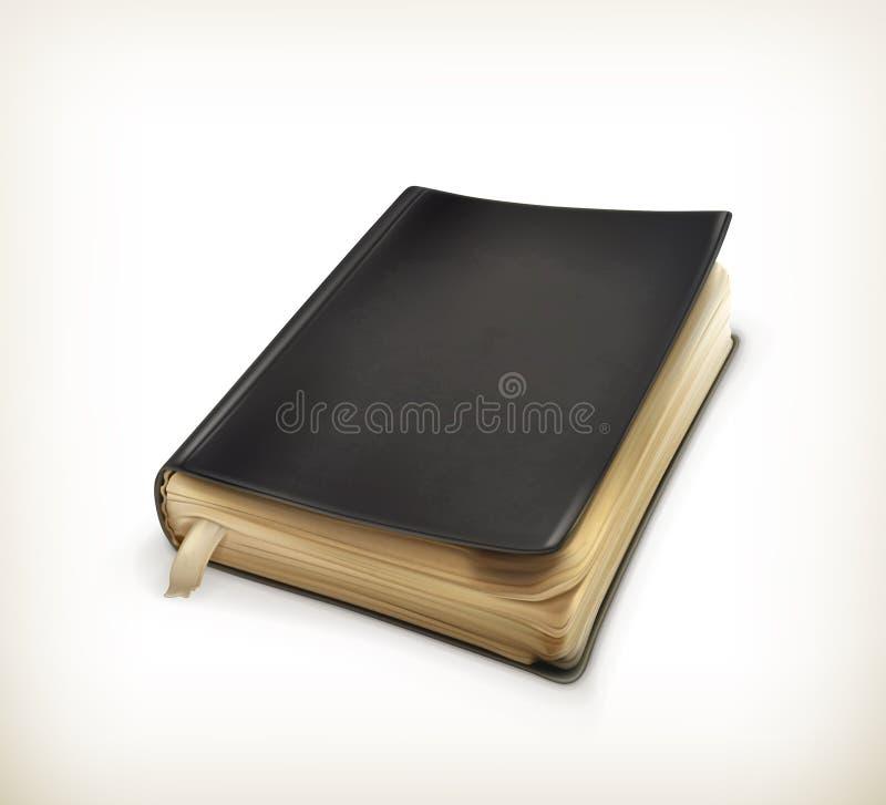 Livro velho ilustração royalty free