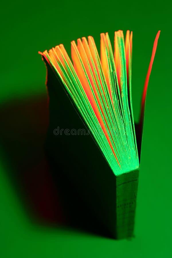 Livro Verde foto de stock royalty free