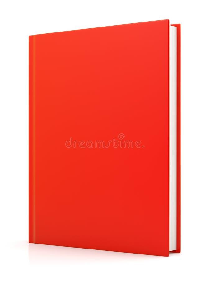 Livro vermelho isolado fotos de stock royalty free