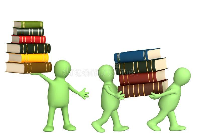 Download Livros ilustração stock. Ilustração de dados, instrução - 16874785