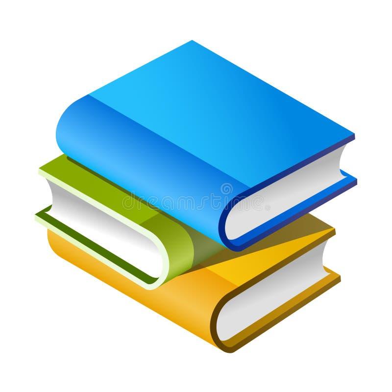 Livros! ilustração stock