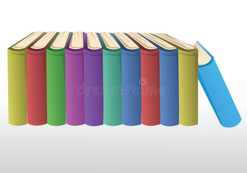 Livros ilustração do vetor