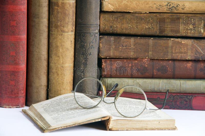 Livros Antic 2 imagem de stock royalty free