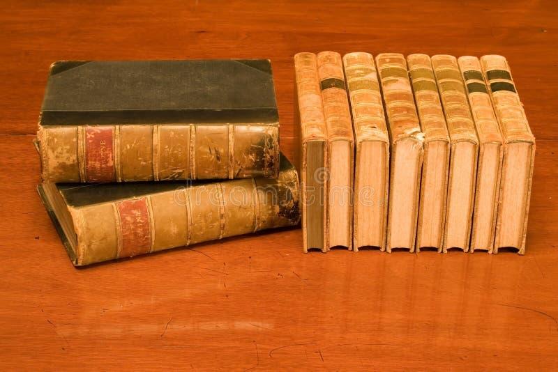 Livros antigos imagem de stock royalty free