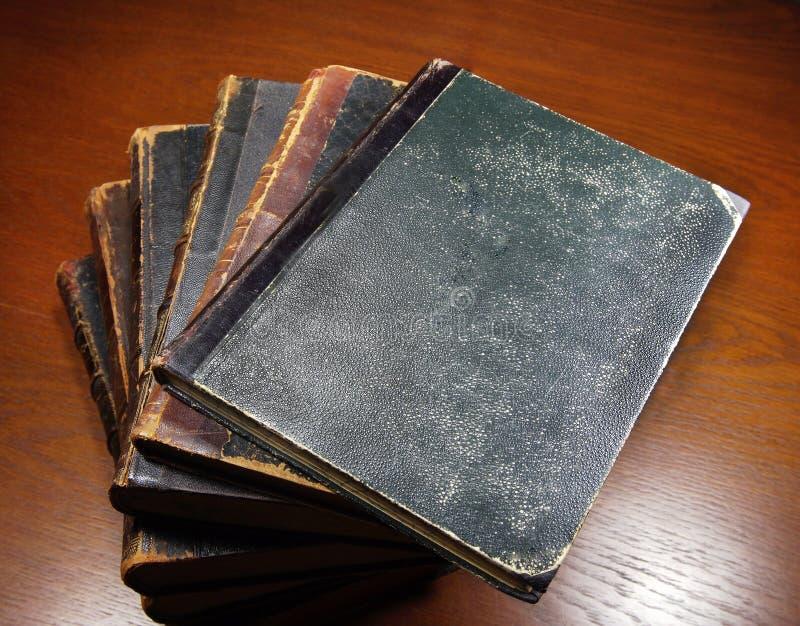 Livros antigos fotos de stock royalty free